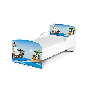 PriceRightHome Pirates Exclusiva Cama de Diseño Infantil