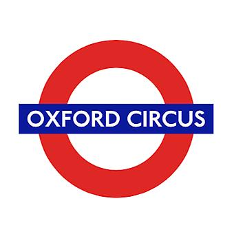 Tfl™5110 licensed oxford circus roundel™ vinyl sticker