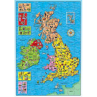 Orchard Britanniaa ja Irlantia puzzle New