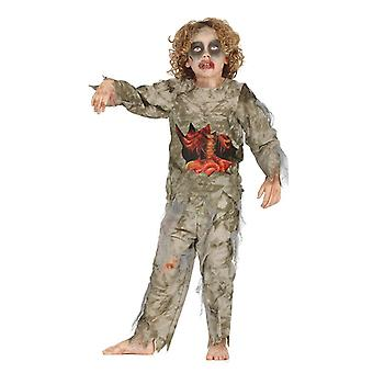 Pojkar barn halloween zombie pojke fancy dress kostym