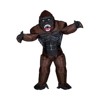Gorille (Airblown Gonflable Surdimensionné Costume W/ Masque)