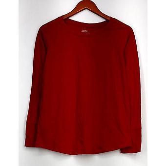 جيليان & O & Malley& مالي Sleepshirt Pullover لينة متماسكة المرأة الحمراء