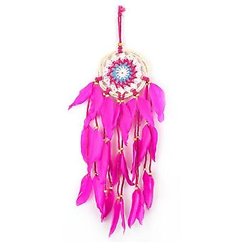 Dark Pink Dream Catcher 45cm