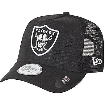 New era adjustable Trucker Cap - HEATHER Oakland Raiders