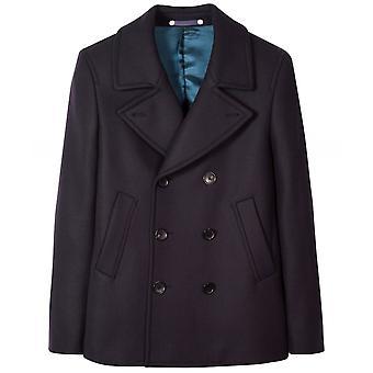 Paul Smith Cashmere Blend Pea Coat