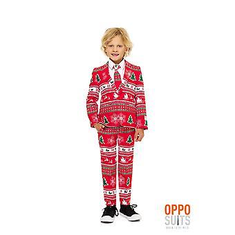 Costume de Noël Winter Wonderland enfants convenir ensemble de 3 morceaux de Opposuit slimline Premium
