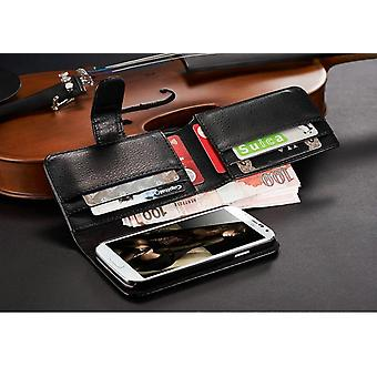 Galaxy S3 wallet case 7 card holder leather