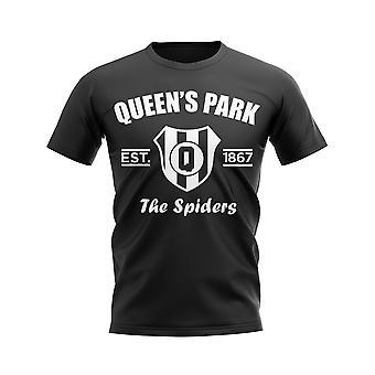 Queens Park Established Camiseta de Fútbol (Negro)