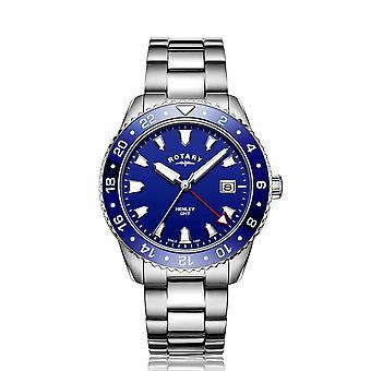 Rotary GB05108-05 Men's Henley GMT Wristwatch