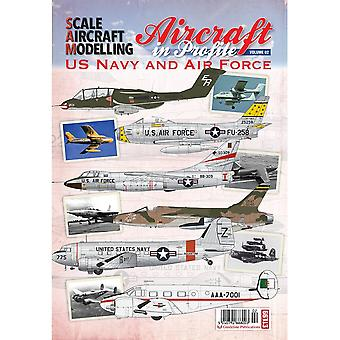 SAM Publications Aircraft In Profile 02 US Navy And Air Force SAM Publications Soft Back Book
