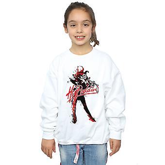 DC Comics Girls Harley Quinn Hi Puddin Sweatshirt