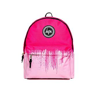 Hype Pink Half Drips Backpack