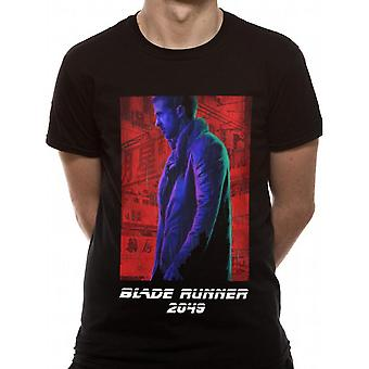 Blade Runner 2049 Unisex aikuisten agentti K Neon Design T-paita