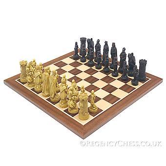 معركة بانوكبورن ماهوغاني مجموعة الشطرنج
