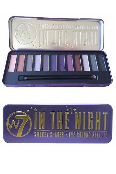 W7 Cosmetics In The Night-Smokey Shades Eye Colour Palette