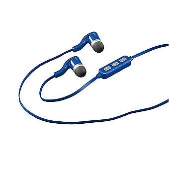 Corona Wireless Bluetooth Blue Earbud Headphones