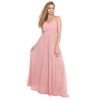 KRISP Frauen Damen Strappy Maxi Kleid formale Hochzeit Abend Party Ball Kleid Cocktail