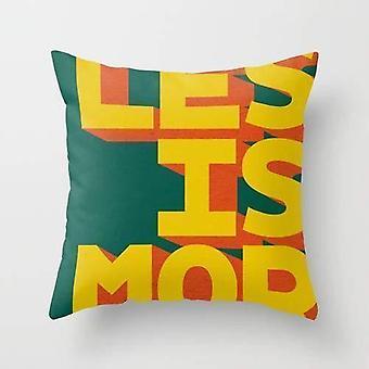 Les is mor pillow