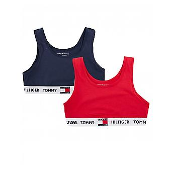 Tommy Hilfiger 2 Pacchetto Di Logo Band Bralettes