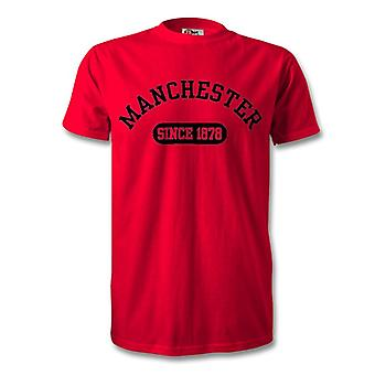 Manchester United 1878 Established Football T-Shirt
