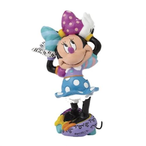 Disney by britto - minnie mouse arms up mini figurine