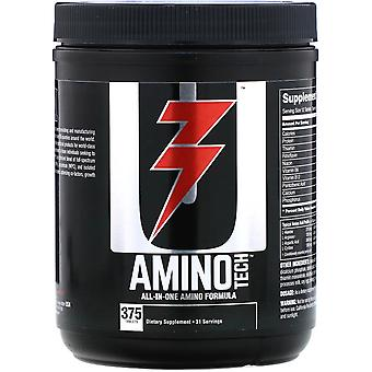 Universal Nutrition Amino Tech - 375 Tablets - Blend of Superior Protein Sources