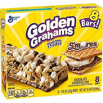 Golden Grahams Treats Chocolate Marshmallow Bars