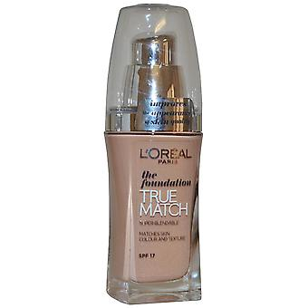 L'Oreal True Match The Foundation Super Blendable SPF17 30ml Rose Sand (R5-C5 Sable Rose)