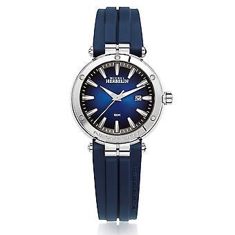 Michel Herbelin 14288-AP15CB Women's Newport Blue Dial Wristwatch