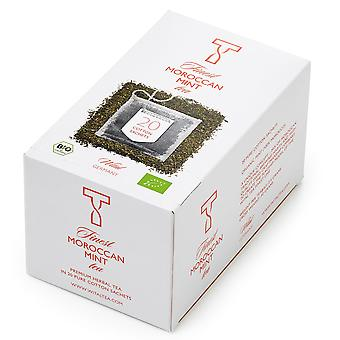 Wital Finest Organic Moroccan Mint Wrapped Tea Bags