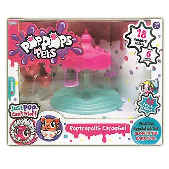 Pop Pops Pets Petropolis Carousel Playset Series 1