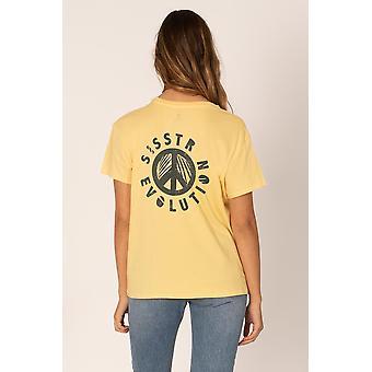 Sisstrevolution peace tropic t-shirt