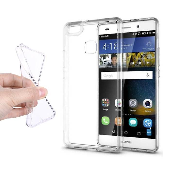 Stuff Certified® 3-Pack Transparent Clear Case Cover Silicone TPU Case Huawei P9
