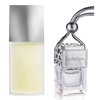 Issey Miyake For Him Inspired Fragrance 8ml Chrome Lid Bottle Hanging Car Vehicle Auto Air Freshener