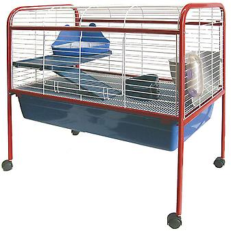Ica Elevated Rabit + Foot Cage (Small pets , Cages and Parks)