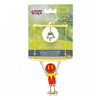 Hagen Circus Balance Red / yellow (Birds , Bird Cage Accessories , Toys , Swings)