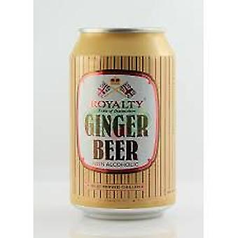 Royalty Ginger Beer Cans Non-acohoic-( 330 Ml X 6 Cans )