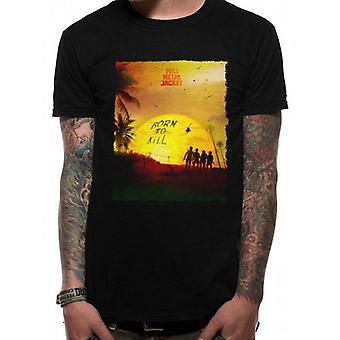 Full Metal Jacket Adults Unisex Sunset Design T-Shirt