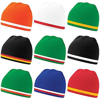 Beechfield World Colours / Flags / The Nations Winter Beanie Hat