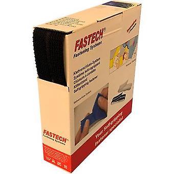 FASTECH® B20-OMNI-999910 Hook-and-loop tape for bundling Hook and loop pad (L x W) 10 m x 20 mm Black 10 m
