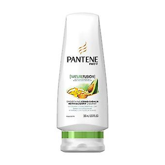 Pantene pro-v nature fusion smoothing conditioner, avocado oil, 12 oz