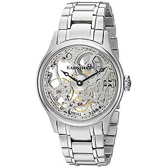 Thomas Earnshaw ES-8049-11 montre analogique, bracelet en acier inoxydable pour hommes, couleur argentée