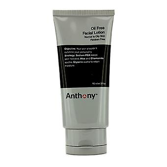 Anthony Logistics för män olja gratis Facial Lotion (Normal till fet hud) 90ml / 3oz