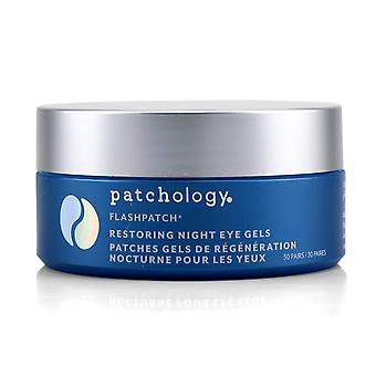 FlashPatch Eye Gels - Gendannelse Night 30pairs