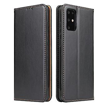 For Samsung Galaxy S20 Case Leather Flip Wallet Folio Cover Black