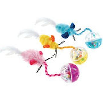 Classic For Pets Ball n' Feather Cat Toy (Cats , Toys , Balls)