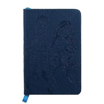 Premium A6 Pocket Notebook-Justice League