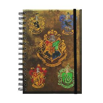 Harry Potter, Notepad-the 4 student homes