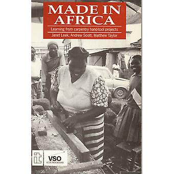 Made in Africa Learning from Carpentry HandTool Projects by Scott & Andrew