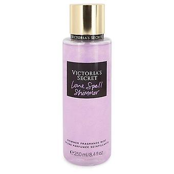 Victoria's secret love spell shimmer fragrance mist spray by victoria's secret   547465 248 ml